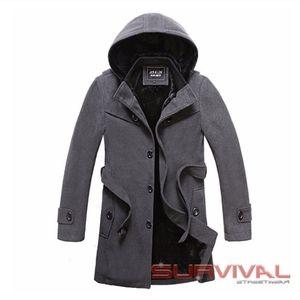 NWT - Jick&Lzai - Mens Winter Coat with Hood